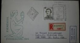 O) 1964 HUNGARY. KING ALBA DAY IN SZEKESFEHERVAR SCT 1584, FDC XF - FDC
