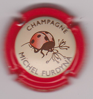 Capsule Champagne FURDYNA Michel ( 45b ; Contour Rouge ) {S07-19} - Champagne