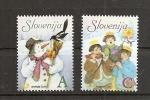 SLOVENIA 2006,MI. NO  601-2,CHRISTMAS,NEW YEAR,,MNH - Slovenia