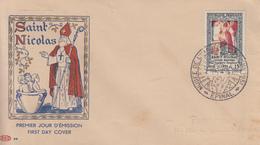 Enveloppe  FDC  1er  Jour    FRANCE   SAINT  NICOLAS   EPINAL   1951 - FDC
