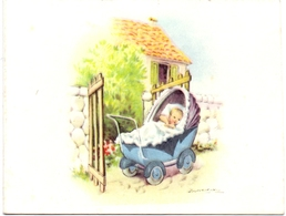 Geboortekaartje Carte De Naissance - Bartje Deserrano - Wevelgem 1 Maart 1959 - Birth & Baptism