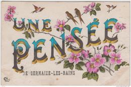 UNE PENSEE DE SERMAIZE LES BAINS 1918 TBE - Sermaize-les-Bains