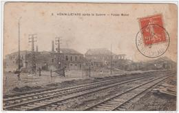 HENIN LIETARD APRES LA GUERRE FOSSE MULOT 1919 - Henin-Beaumont