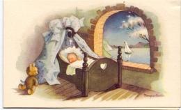 Geboortekaartje Carte De Naissance - Edith Hainaut - Haine St Paul - 5 Mars 1957 Baptisée Bois Haine 1958 - Naissance & Baptême