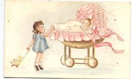 Geboortekaartje Carte De Naissance - Viviane Simon - Bracquegnies 13 Juin 1947 - Birth & Baptism