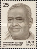 USED STAMPS India - The 100th Anniversary Of The Birth Of Tauran Ram -  1977 - India