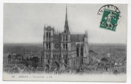 AMIENS EN 1910 - N° 97 - VUE GENERALE - BEAU CACHET - CPA VOYAGEE - Amiens