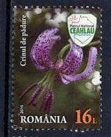 Roumanie - Rumänien - Romania 2016 Y&T N°(2) - Michel N°7122 Nsg - 16l Lys Martagon - Ongebruikt
