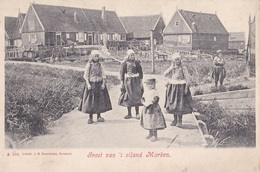 MARKEN // Groet Van 't Eiland Marken - Marken