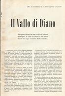 IL VALLO DI DIANO / L'ALLEVAMENTO DELLA PECORA  ARTICOLI RITAGLIATI  DA GIORNALE 1953 - Altri