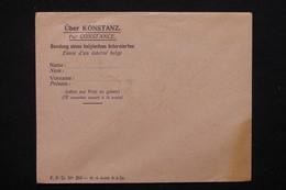 BELGIQUE / ALLEMAGNE - Enveloppe De Prisonnier Belge Du Camp De Constance Non Utilisé - L 22711 - Storia Postale