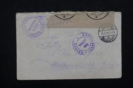 BELGIQUE / ALLEMAGNE - Enveloppe De Prisonnier Belge En 1916 - L 22712 - Prisonniers