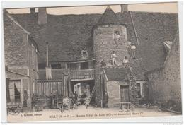 MILLY LA FORET ANCIEN HOTEL DU LION D'OR 1915 TBE - Milly La Foret