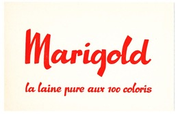 Buvard  20.9 X 13.4 MARIGOLD La Laine Pure Aux 100 Coloris - Textile & Vestimentaire