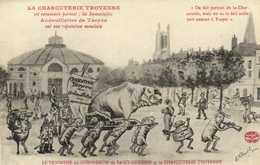 Illustrateur LE TRIOMPHE Du COMPAGON De SAINT ANTOINE Et La CHARCUTERIE  TROYENNE   Cochon RV - Troyes