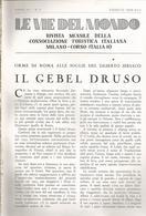 ARTICOLO RITAGLIATO DA GIORNALE 1939 IL GEBEL DRUSO - Altri
