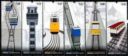 XE1373 Portugal 2010 Tram And Cable Car 6V MNH - Nuovi