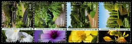 XE1374 Portugal 2010 Botanical Garden Scenery And Flowers 4V MNH - Nuovi