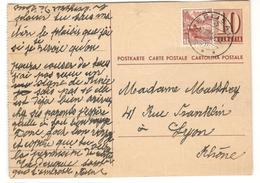 13981 - Pour La France - Stamped Stationery