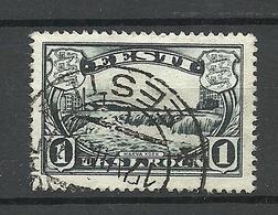 Estonia Estonie 1933 Narva Water Fall Michel 98 O - Géographie