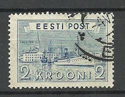 Estland Estonia Estonie 1938 Reval Tallinn Hafen Harbour  Michel 137 O - Estonie