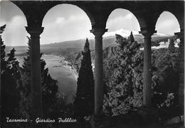 TAORMINA - Giardino Publico - Messina