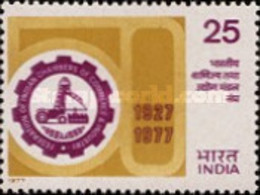USED STAMPS India - The 50th Anniversary Of Federation Of Indian Chamber -  1977 - India