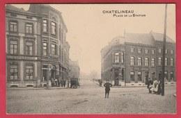 """Chatelineau  - Place De La Station ... Hôtel """" L'Espérance """"  ( Voir Verso ) - Châtelet"""