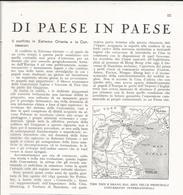 ARTICOLO RITAGLIATO DA GIORNALE 1939 IL CONFLITTO IN ESTREMO ORIENTE E LE CONCESSIONI - Altri