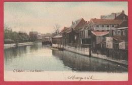 Chatelineau  - La Sambre ... Imprimerie - 1908  ( Voir Verso ) - Châtelet