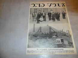 """Origineel Knipsel ( 1673 ) Uit Tijdschrift """" Ons Volk """"  1936  :   Hornu - Vieux Papiers"""