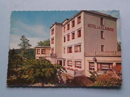 """Hôtel De La """" CLAIRIERE """" En Plein """" Val D'Aisne """" Prop. Charles HUBAR ( Lander ) Anno 19?? ( Zie / Voir Photo ) ! - Erezée"""
