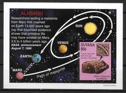 GUYANE  BF   * *   Meteorite - Astronomie
