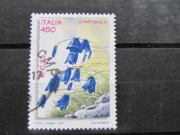 *ITALIA* USATI 2001 - GIORNATA MONDIALE NATURA - SASSONE 2535 - LUSSO/FIOR DI STAMPA - 6. 1946-.. Repubblica