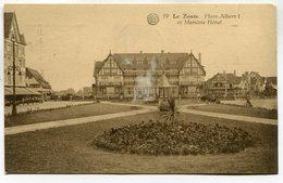 CPA - Carte Postale - Belgique - Le Zoute - Place Albert I Et Memline Hôtel - 1933 ( DD7295) - Knokke