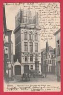 Mons - Marché Aux Poulets Et Hôtel Des Téléphones - 1905  ( Voir Verso ) - Mons