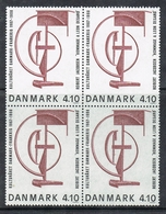 DANEMARK N°931 N** EN BLOC DE 4  émission Conjointe France/Danemark - Danemark