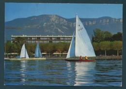AIX LES BAINS - Le Lac Du Bourget - Au Fond, Le Mont Revard - Aix Les Bains