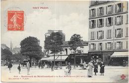 TOUT PARIS: N°643 BOULEVARD DE MENILMONTANT - EDITION F.FLEURY - France