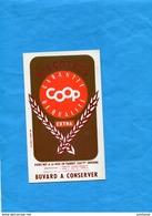 "-BUVARD-""BISCOTTES COOP "" - LILLE--années 40-50 - Biscottes"