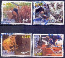 Used Bolivia 2012, Professions 4V. - Bolivia