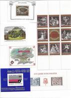 1692g: Blockausgaben Österreich, Siehe Abbildung- Kleines Lot Der Achtziger Jahre - Blocs & Feuillets