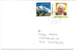 1692b: Personalisierter Brief Aus Bedarfspost: Seltene Kleinauflage (unbekannter Mann) Mit €- Zeichen, RR - Österreich