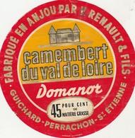 Camembert Val De Loire  DOMANOR St Etienne - Fromage