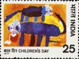 USED STAMPS India - Children's Day  -  1977 - India