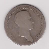 Taler De Frédéric Guillaume III De Prusse 1814 - Taler Et Doppeltaler