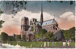 PARIS ET SES MERVEILLES - ABSIDE DE LA CATHEDRALE NOTRE-DAME - Notre Dame De Paris