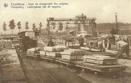 SOIGNIES - CARRIERES DU HAINAUT - QUAI DE CHARGEMENT DES WAGONS (ref 4986) - Soignies