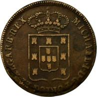 Monnaie, Portugal, Miguel, 40 Reis, Pataco, 1831, Lisbonne, TTB, Bronze, KM:391 - Portugal