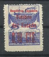 ASTURIAS Y LEON EDIFIL NE  1  MNH  ** - Asturies & Leon